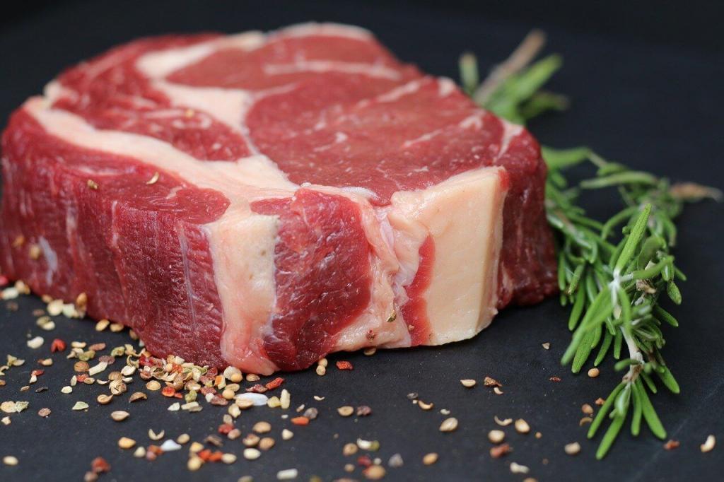 carne com gordura